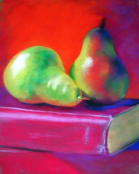 Pears and Book
