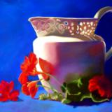 The white pitcher