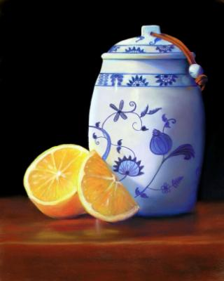 Lemons and Ginger Jar