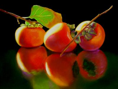 More persimmons